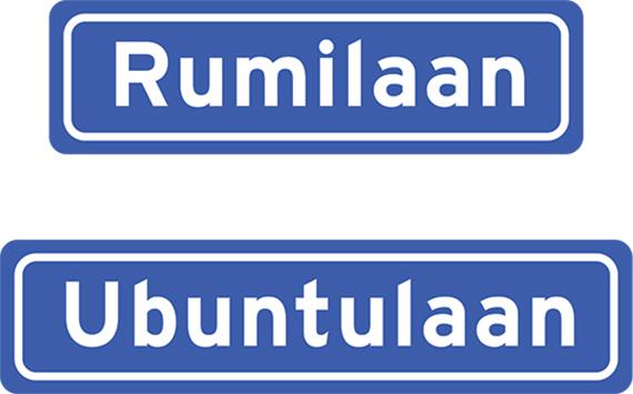 straatnaambordjes